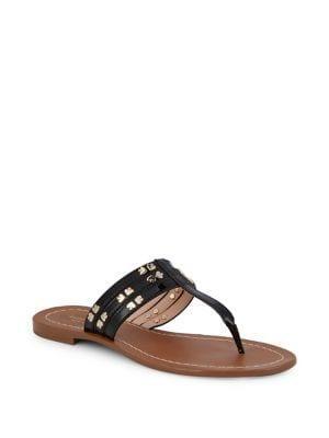 Kate Spade New York Carol Spades Studded Leather Sandals