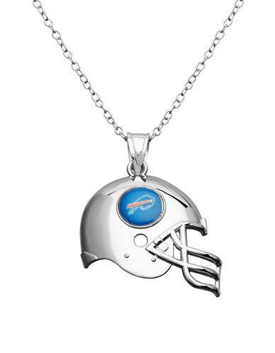 Dolan Bullock Nfl Buffalo Bills Sterling Silver Helmet Pendant Necklace