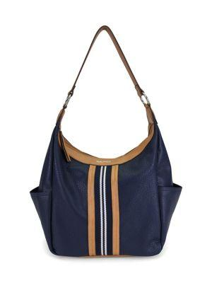 Nautica Seaswift Faux Leather Hobo Bag