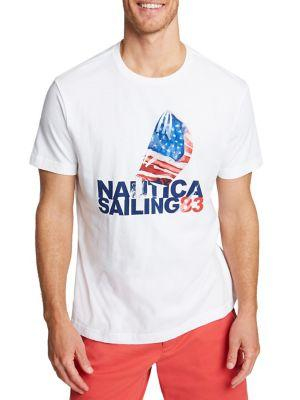 Nautica Sailing Printed T-shirt