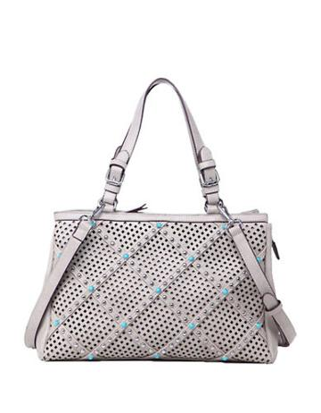 Chinese Laundry Ayo Perforated And Studded East West Tote
