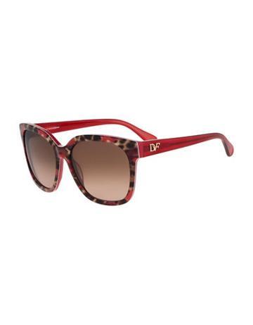 Diane Von Furstenberg Julianna 58mm Oversized Sunglasses