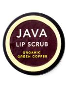 Java Skincare Organic Green Coffee Lip Scrub- 0.5 Oz.