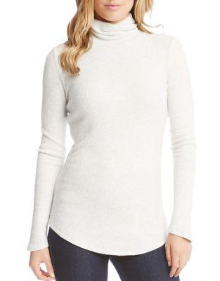 Karen Kane Brushed Rib-knit Sweater
