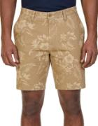 Nautica Floral-print Cotton Shorts