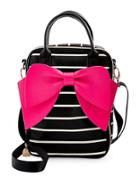 Betsey Johnson Bowstatic Lunch Tote