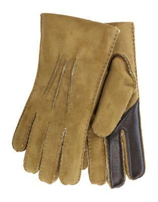 Ugg Contrast Shearling Gloves
