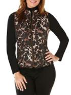 Rafaella Petites Quilted Puffer Vest