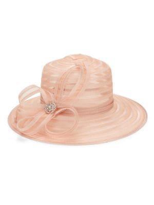 Giovannio Rhinestone Bow Hat
