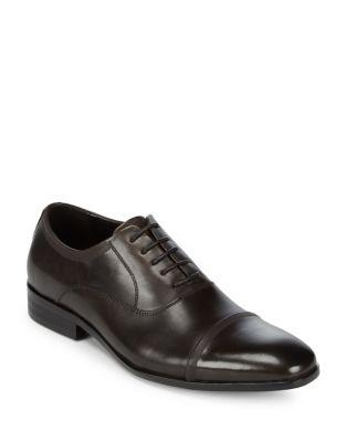 Kenneth Cole Reaction Cap Toe Leather Oxfords