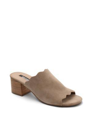 Kensie Hajari Suede Sandal Pumps