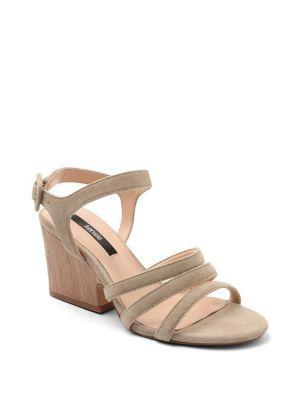 Kensie Ebony Strappy Sandal Pumps