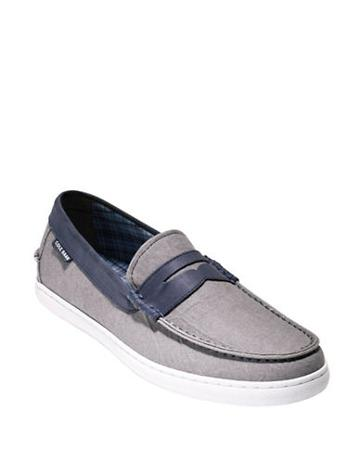 Cole Haan Pinch Weekender Leather-blend Loafers