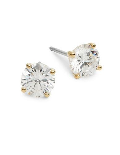 Nadri Mini Round Stud Earrings