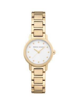 Rebecca Minkoff Bffl Goldplated Bracelet Watch