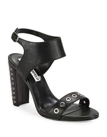 Karl Lagerfeld Paris Leola Grommet-accented Sandals
