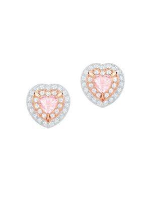 One Swarovski Crystal Stud Earrings