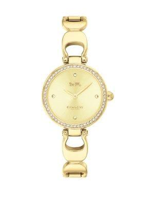 Coach Park Signature Crystal Bracelet Watch