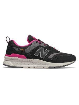 New Balance Logo Round Toe Low-top Sneakers