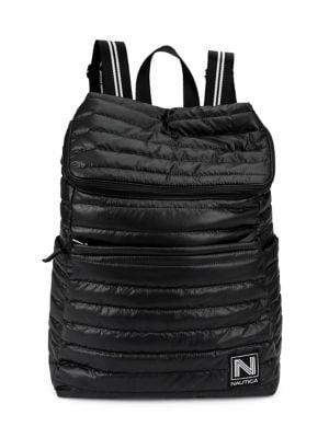 Nautica Working Tidal Quilted Nylon Backpack