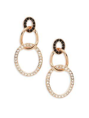 Swarovski Crystal Greeting Drop Earrings