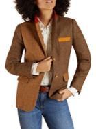 Brooks Brothers Red Fleece Colorblocked Wool Jacket