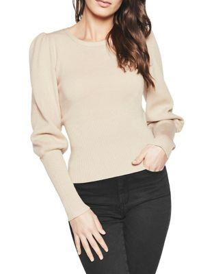 Bardot Puffy Roundneck Top