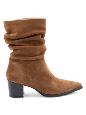 Blondo Tarrah Waterproof Suede Slouch Boots