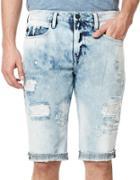 Buffalo David Bitton Parker Distressed Shorts