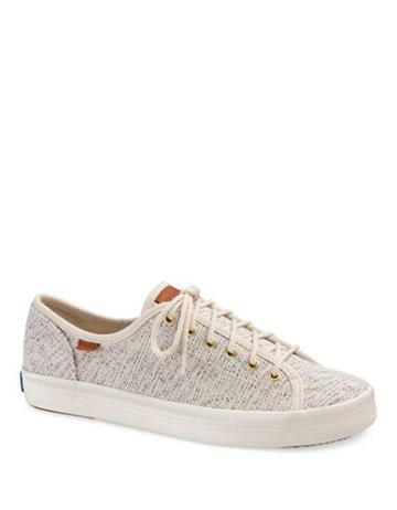 Keds Textured Lace-up Sneakers