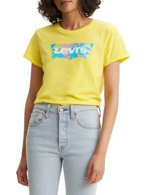 Levi's Logo Cotton Blend Tee