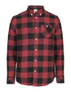 Wesc Olavi Long Sleeve Plaid Shirt
