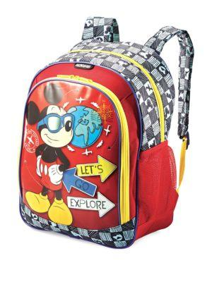 American Tourister Mickey Mouse Backpack  e574d11cf7ad8