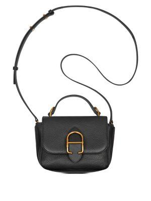 Anne Klein Micro Cecile Leather Messenger Bag