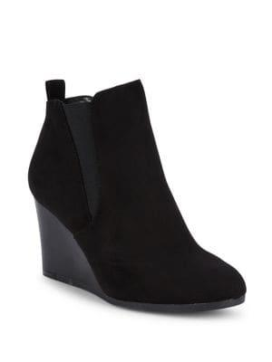 Lexi And Abbie Avril Wedge Heeled Booties