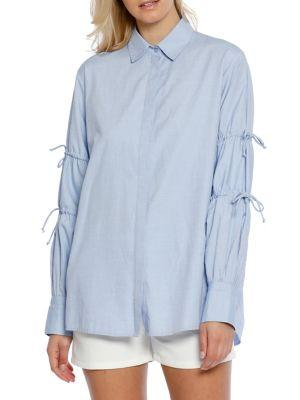Walter Baker Ashlee Cotton Long-sleeve Top