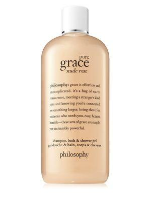 Philosophy Pure Grace Nude Rose Shampoo, Bath And Shower Gel