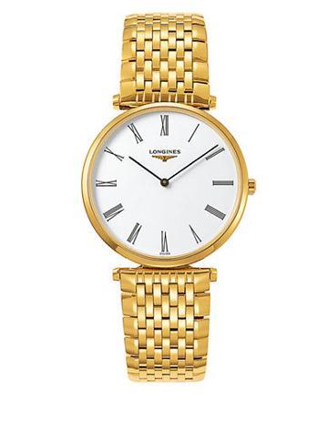 Longines Goldtone Bracelet Watch
