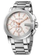 Gucci Stainless Steel Chronograph Watch