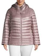 Calvin Klein Plus Short Packable Puffer Coat