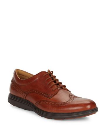 Cole Haan Grand Wingtip Leather Oxfords