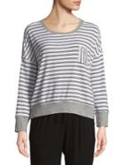 Splendid Striped Dolman-sleeve Sweater