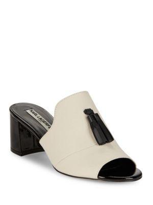 Karl Lagerfeld Paris Hettie2 Leather Mules