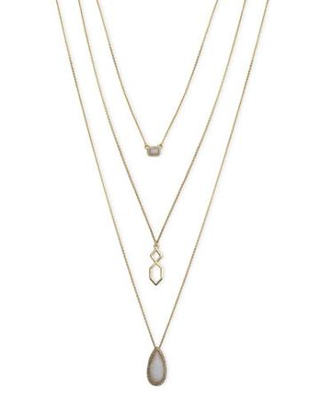 Ivanka Trump Pearl Layered Pendant Necklace