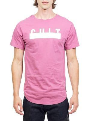 Cult Of Individuality Logo Crew Cotton Tee