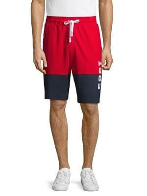 Tommy Hilfiger Colorblock Fleece Drawstring Shorts