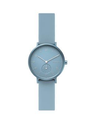 Skagen Aaren Silicone Strap Watch