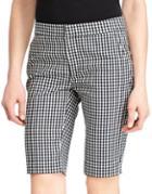 Lauren Ralph Lauren Mid-rise Printed Bermuda Shorts