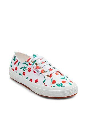 Superga Printed Canvas Sneakers