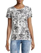 French Connection Roundneck Floral Top